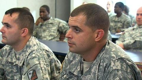 PBS NewsHour -- Army Program Designed to Alleviate PTSD for Troops...