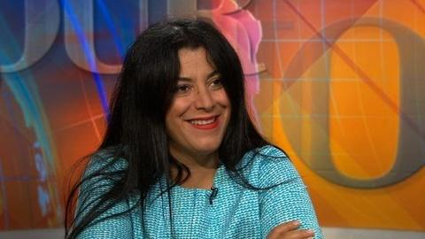 PBS NewsHour -- Conversation: Marjane Satrapi