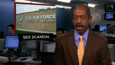 PBS NewsHour -- News Wrap: Air Force Sex Abuse Trial Begins