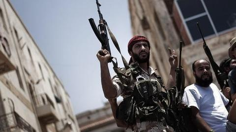 PBS NewsHour -- Libyan Adviser to Rebels: 'Miserable' in Tripoli Amid...