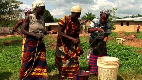 PBS NewsHour -- Will Water Pumps Bring Peace to Ivory Coast?
