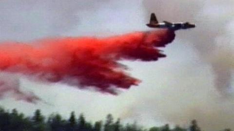 PBS NewsHour -- Winds Keep Arizona Fire Growing Toward Record Size