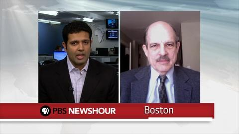 PBS NewsHour -- Paul Solman and Hari Sreenivasan Talk Unemployment
