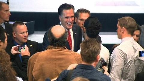 PBS NewsHour -- Wisconsin Primary: Setting the Stakes for Romney, Santorum