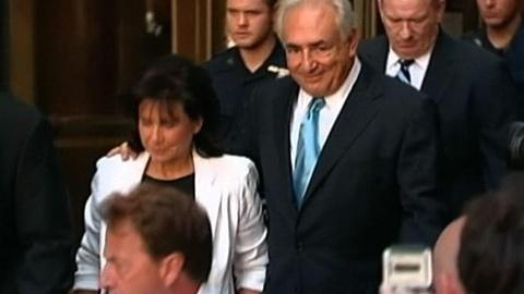 PBS NewsHour -- Strauss-Kahn Released From House Arrest as Case Enters...