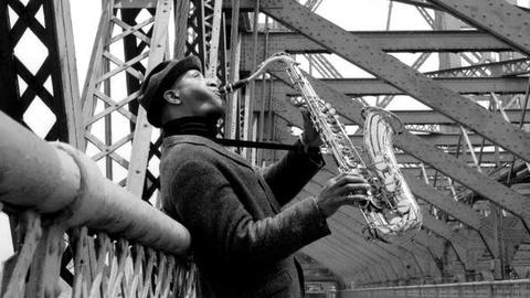 PBS NewsHour -- Legendary Saxophonist Sonny Rollins on His Enduring Love...