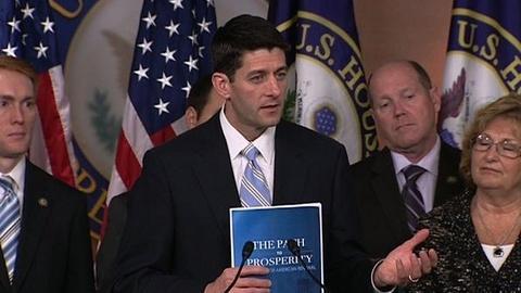PBS NewsHour -- As House GOP Unveils Budget, Polarization Grips Washington