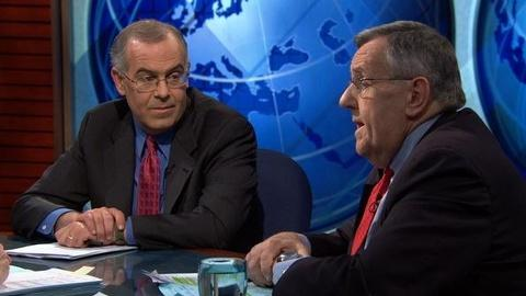 PBS NewsHour -- Shields, Brooks on U.S. Policy in the Middle East,...
