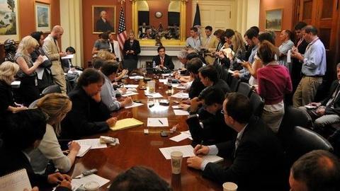 PBS NewsHour -- Durbin: 'Slow Going' Inside Debt Limit Talks