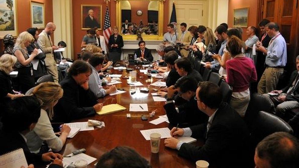 Durbin: 'Slow Going' Inside Debt Limit Talks image