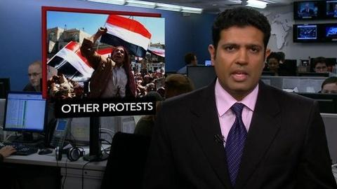 PBS NewsHour -- News Wrap: Protests Continue in Bahrain, Yemen