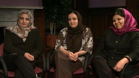 PBS NewsHour -- Amid Push for Talks With Taliban, Where Do Rights of...