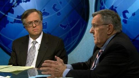 PBS NewsHour -- Shields and Gerson on Budget Impasse, Bachmann Candidacy