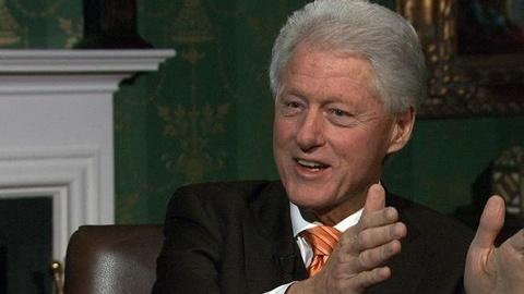 PBS NewsHour -- Bill Clinton on Obama: 'I Think He'll Be Re-elected'