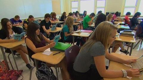 PBS NewsHour -- Stalling Economy Forces Pennsylvania Schools to Put...