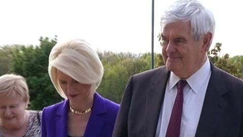 PBS NewsHour -- Gingrich Campaign Suffers Setbacks as GOP's 2012 Field...