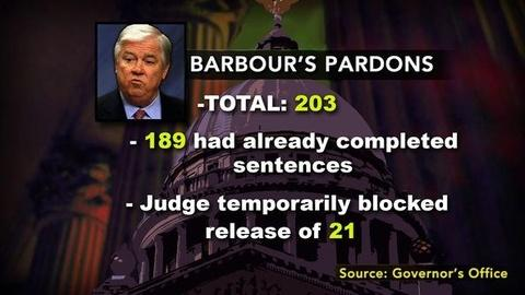 PBS NewsHour -- Barbour's Parting Pardons, Some for Convicted Killers,...