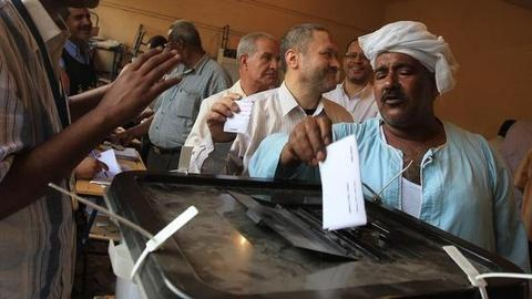 PBS NewsHour -- Egypt's Historic Election: 'Even the Most Jaded Were Moved'