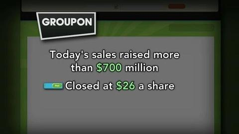 PBS NewsHour -- Groupon Stock Soars, but Does It Have Lasting Value?
