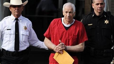 PBS NewsHour -- Jerry Sandusky Receives 30 to 60 Years Behind Bars