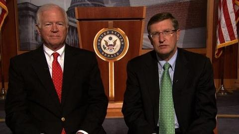 PBS NewsHour -- Conrad: Any Debt Deal Would Resemble 'Gang of 6' Plan
