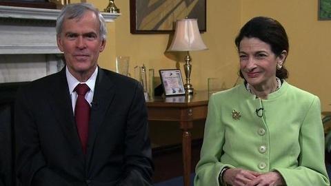 PBS NewsHour -- Retiring Sens. Snowe, Bingaman: Political Center Is Fading