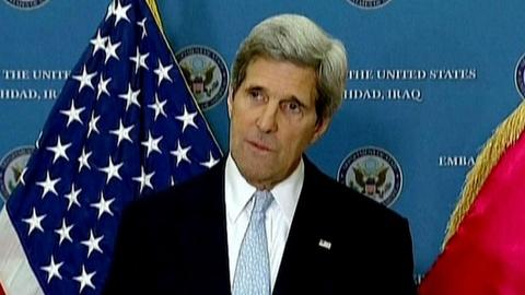 PBS NewsHour -- John Kerry Makes Trip to Afghanistan Defuse Tensions