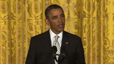 PBS NewsHour -- Obama Pushes Immigration Reform at White House Ceremony