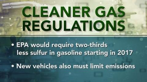 PBS NewsHour -- Obama Administration Makes Run For Cleaner Gas