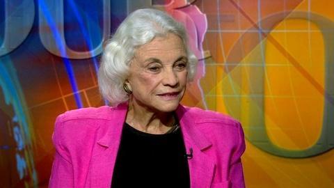 PBS NewsHour -- Sandra Day O'Connor Explores Supreme Court History