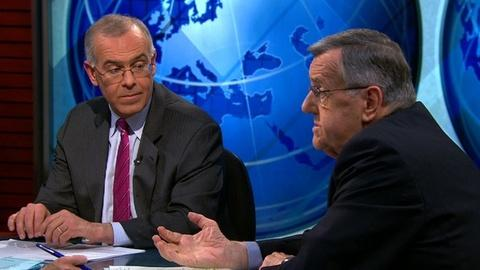 PBS NewsHour -- Shields and Brooks on the Jobs, Obama's Budget Bargaining