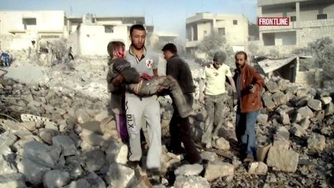 PBS NewsHour -- Filmmaker Captures Life for Syrians With World Blown Apart