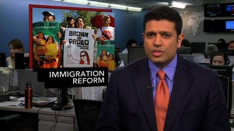 PBS NewsHour -- News Wrap: Senators Work on Immigration Reform Bill