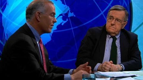 PBS NewsHour -- Shields and Brooks on Obama's Budget, Senate Gun Fight