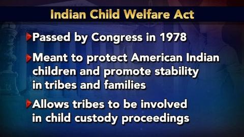 PBS NewsHour -- Supreme Court Hears Native American Custody Case for Child