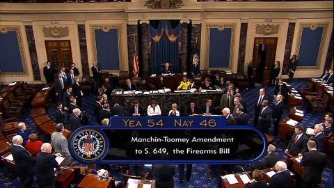 PBS NewsHour -- Senate Rejects Amendments for Background Checks