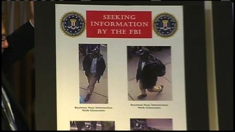PBS NewsHour -- FBI Releases Photos of Boston Blast Suspects