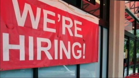 PBS NewsHour -- April Hiring Increase Shows Signs of Economic Healing