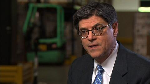 PBS NewsHour -- Treasury Secretary Lew on Long-Term Unemployment