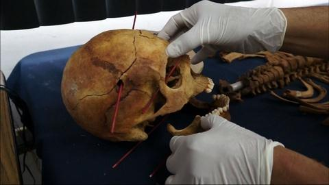 PBS NewsHour -- From Guatemalan, Scientists Unearth Signs of Genocide