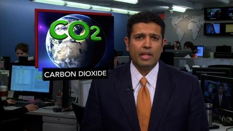 PBS NewsHour -- News Wrap: Carbon Dioxide Level Hits Grim Milestone