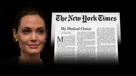 PBS NewsHour -- Understanding Angelina Jolie's Preventative Mastectomy