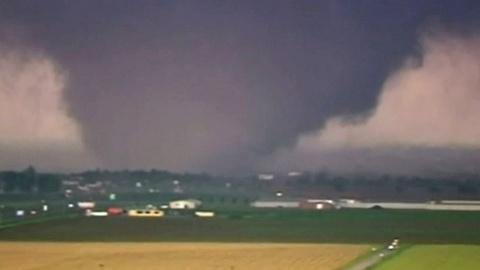 PBS NewsHour -- Massive, Mile-Wide Tornado Leaves Wake of Destruction