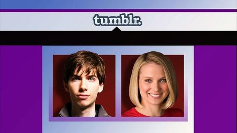 PBS NewsHour -- Yahoo Makes Bid for Reboot With $1.1 Billion Deal for Tumblr