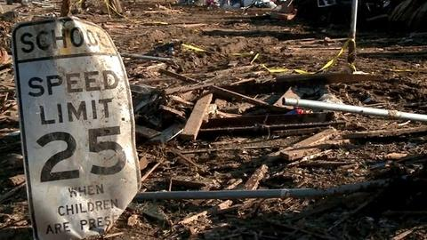 PBS NewsHour -- Tornado-Battered Moore Comes to Grips With Aftermath