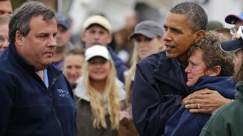 PBS NewsHour -- Presidents Offer Compassion After Catastrophe at Disasters