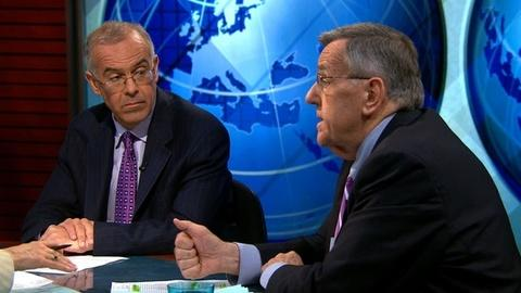 PBS NewsHour -- Shields and Brooks on Arms to Syria, James Comey for FBI