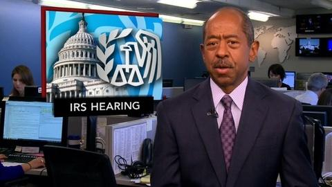 PBS NewsHour -- News Wrap: Conservative Groups Speak Out On IRS