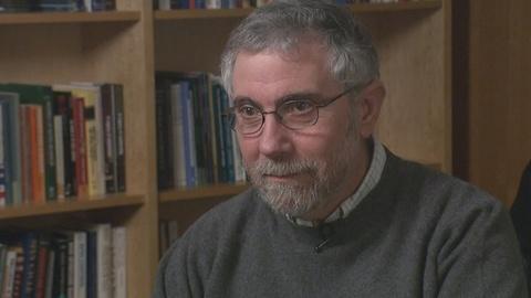 "PBS NewsHour -- Krugman: ""Economics Is Not a Morality Play"""
