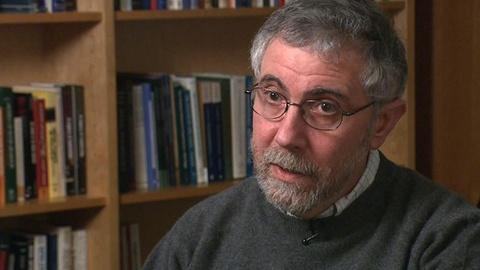 PBS NewsHour -- Paul Krugman on Managing Financial Crisis